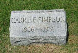 Carrie E. Simpson