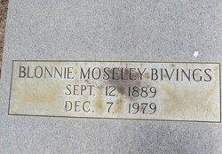 Blonnie <i>Moseley</i> Bivings