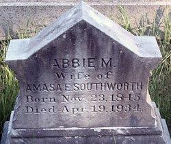 Abbie M <i>Dorman</i> Southworth