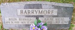 Helen <i>Herbold</i> Barrymore