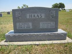 Leonard F. Haas