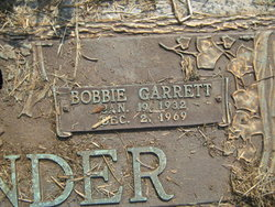 Bobbie <i>Garrett</i> Cavender