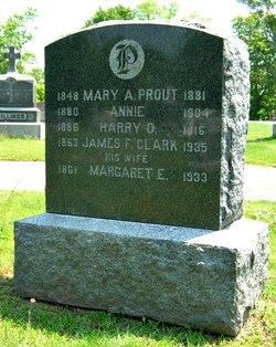 Margaret E <i>Hart</i> Clark