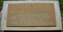 William Hamilton Crenshaw