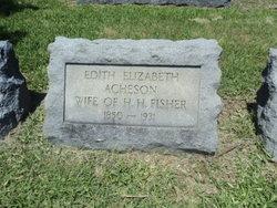 Edith Elizabeth <i>Acheson</i> Fisher