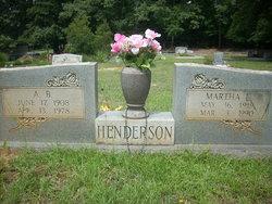 A B Henderson