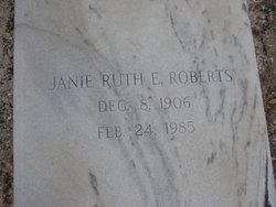 Janie Ruth <i>Edenfield</i> Roberts