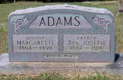Rev Joseph Adams