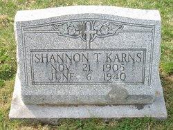 Shannon T Karns