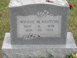 Winnie M Ashton