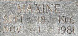 Maxine Blue