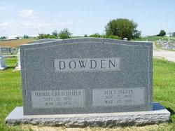 Alice Judy <i>Ingels</i> Dowden
