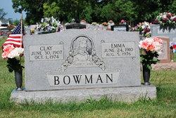 Clay H Bowman