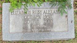 Elizabeth Ruth Alexander