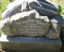 Martha Jane <i>Coleman</i> Banks