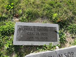 Dr Merrille Elmer Gaddis