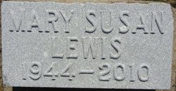 Mary Susan Lewis