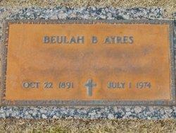 Beulah <i>Brannan</i> Ayres