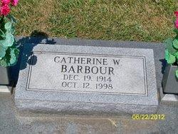 Catherine Wilma <i>Burlingame</i> Barbour