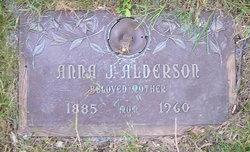 Anna J. <i>Brezendine</i> Alderson