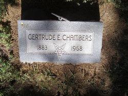 Gertrude E <i>Nielsen</i> Chambers