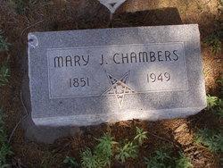 Mary Jane <i>Crouch</i> Chambers