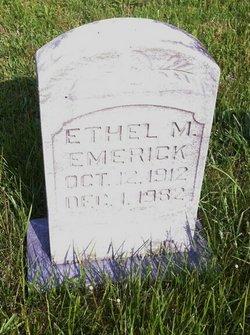Ethel May Emerick