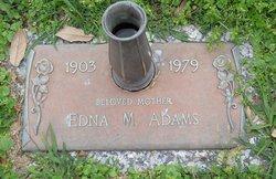 Edna M. <i>Lightfoot</i> Adams