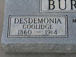 Desdemonia <i>Coolidge</i> Burnett