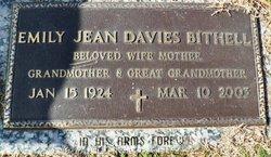 Emily Jean <i>Davies</i> Bithell