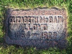 Elizabeth R. Bessie <i>McBain</i> Lloyd