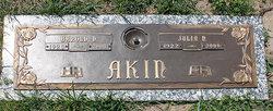 Julia Nelle <i>Davis</i> Akin