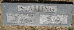 Sallie Ann <i>Perkins</i> Starling
