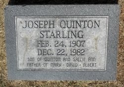 Joseph Quinton Starling