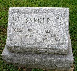 Alice E. <i>Kalb</i> Barger