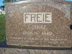 Louise S <i>Holle</i> Freie