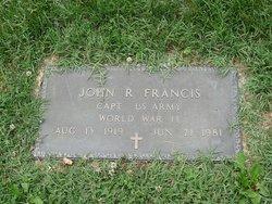 John R Francis