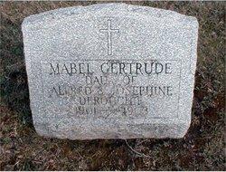 Mabel Gertrude Derouchie