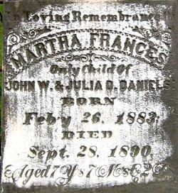 Martha Frances Mop Daniels