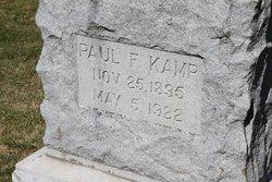 Paul F Kamp