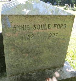 Annie <i>Soule</i> Ford