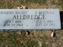 Rosena <i>Kelsey</i> Alldredge
