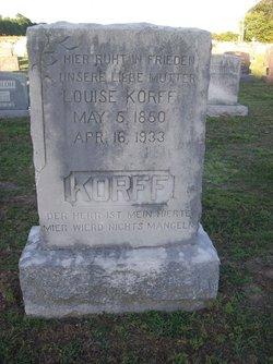 Louise Korff