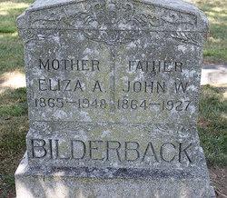 Eliza A Bilderback