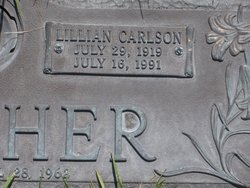 Audrey Lillian Lillian <i>Carlson</i> Butcher