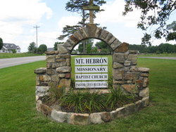 Mount Hebron Missionary Baptist Church Cemetery