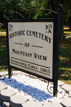 Historic Cemetery of Mountain View