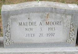 Maudie A Moore