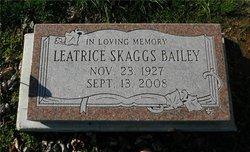 Leatrice <i>Skaggs</i> Bailey