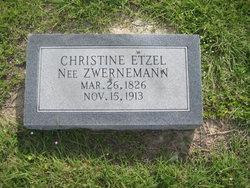 Christine <i>Zwernemann</i> Etzel